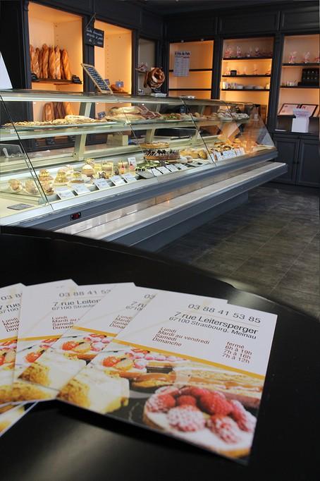 boulangerie patisserie gerome à Strasbourg Meinau vienoiseries, pains, sandwich's_116